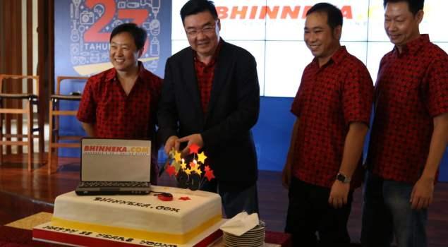 Perayaan Ultah ke-23 Bhinneka.com (Sumber: Blog.Bhinneka.com)