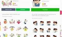 Contoh Sticker LGBT milik LINE