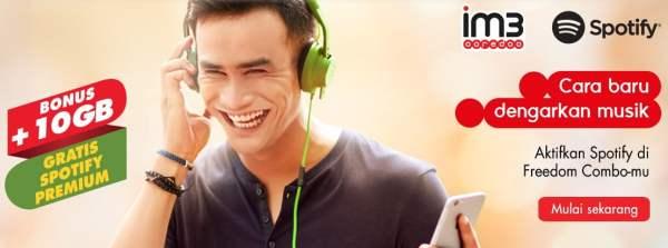 Spotify, Indosat Ooredoo