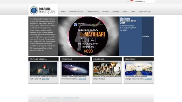 live streaming, observatorium bosscha, gmt