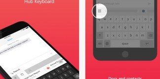 Hub Keyboard, Microsoft, App Store, iOS