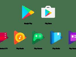 Arti Lambang di Google Play, Play Store, Play Movies & TV, Play Music, Play Games, Play Books, Play Newsstand