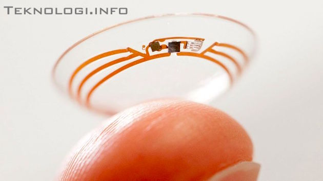 Smart Contact Lenses Sony