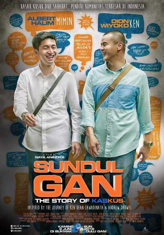 Sundul Gan : The Story of Kaskus, Kaskus, Andrew Darwis, Ken Dean Lawadinata, Forum Online