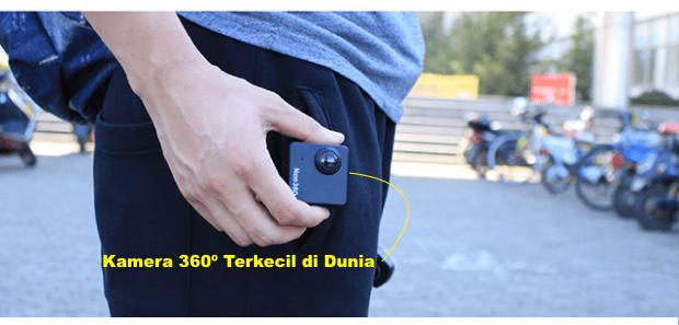Kamera Terkecil Nico360