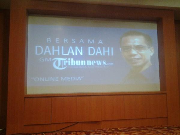 Dahlan Dahi, GM Tribunnews.com