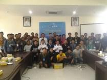 Foto bersama Peserta dengan Komunitas Startup Banjarmasin Dishubkominfo Kalsel