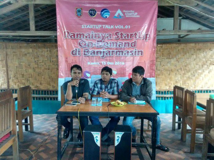 Startup Talk, Startup Banjarmasin, Startup On-Demand