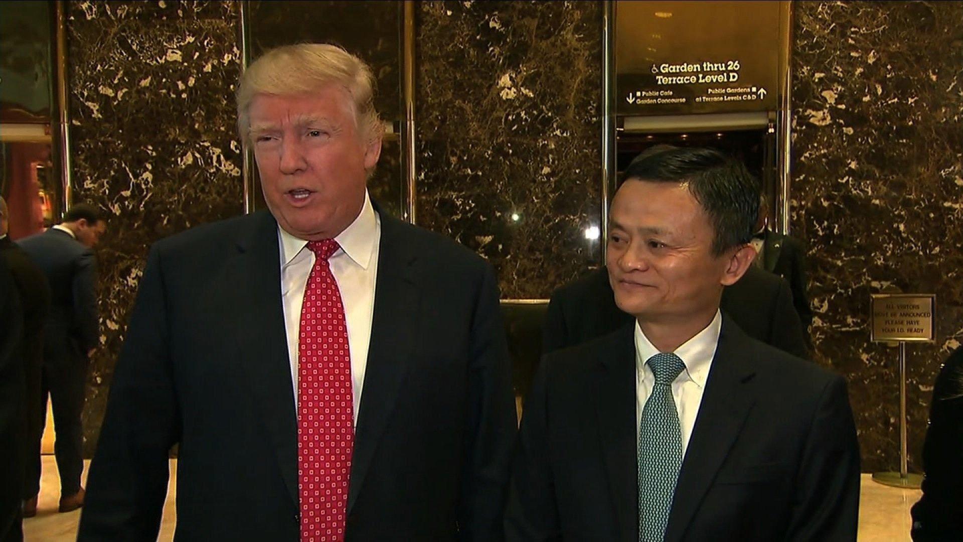 Donald Trump dan Jack Ma Kerjasama Untuk UKM Amerika Serikat