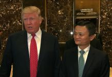 Jack Ma, Donald Trump