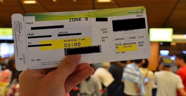 Jangan Upload Foto Tiket Pesawat