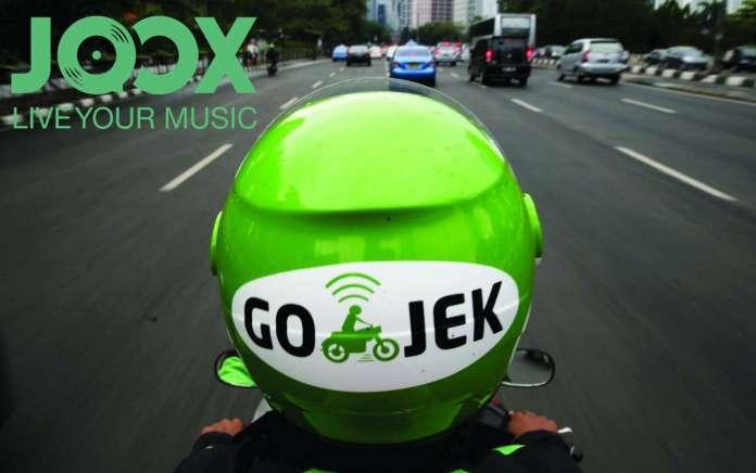 Kolaborasi JOOX dan Go-Jek