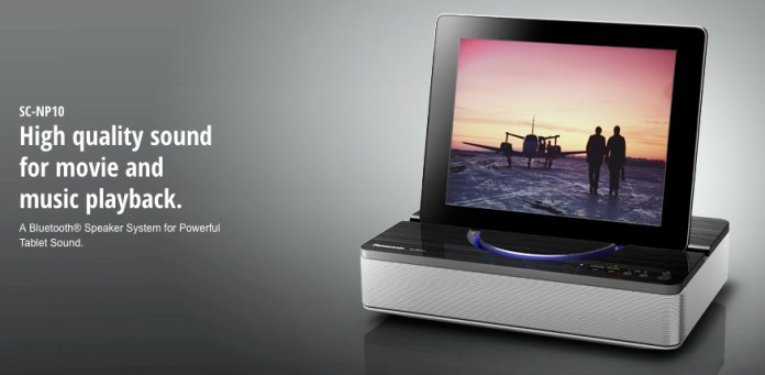 SC NP10 Wireless Speaker Systems Panasonic