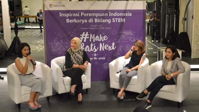 Event MakeWhatsNext Microsoft di Indonesia
