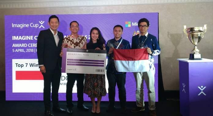 Indonesia Melaju ke Final Dunia Microsoft Imagine Cup 2018