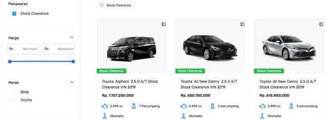 SEVA Menjual Mobil Bekas dan Baru Alphard