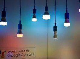 asisten google menjadwalkan smart light