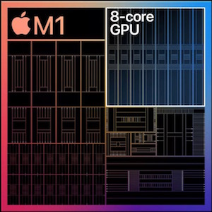 M1 chip 8 dedicated GPU cores