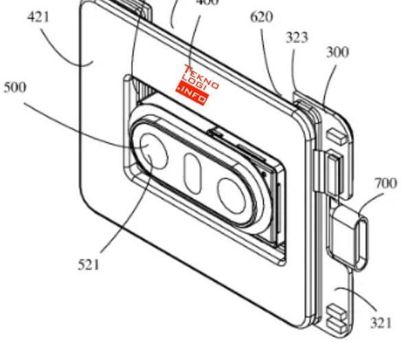 OPPO patent smartphone detachable camera module