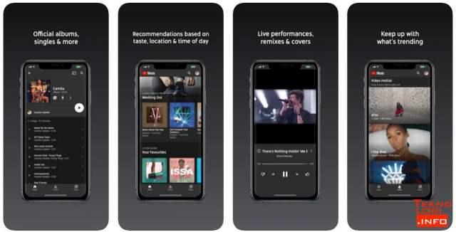 YouTube Music di App Store