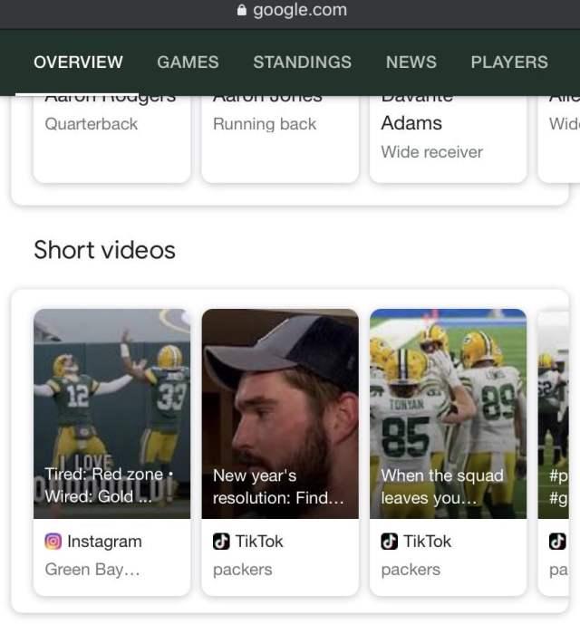 Video TikTok Instagram Muncul SERP Google