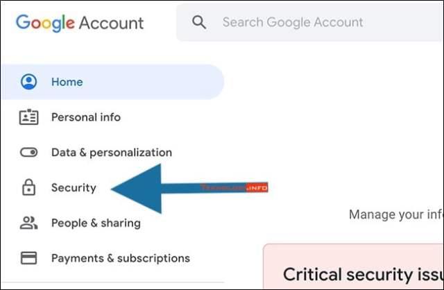 google keamanan security