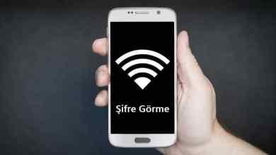 Photo of Telefonda Kayıtlı Wifi Şifresini Öğrenme