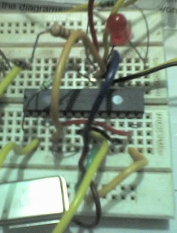 PIC 16f73 - ADC with UART