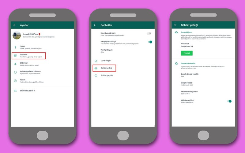 WhatsApp Yedeklemesi Nasıl Yapılır? - Resim Kredisi : Tekno Mercek