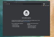 Google Chrome'u Her Zaman Gizli Modda Başlatma