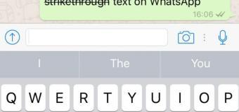 """Pelajari Cara Buat Huruf """"Bold"""" dan """"Italic"""" di WhatsApp"""