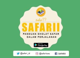 Safari, Aplikasi penentu waktu solat safar dalam perjalanan