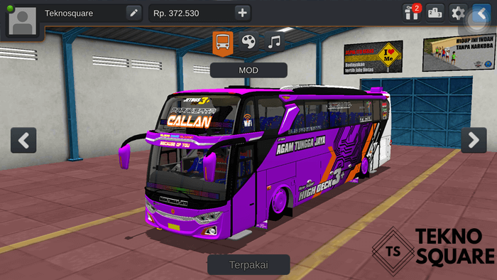Jetbus 3+ Voyager New Geprek By MD Creation