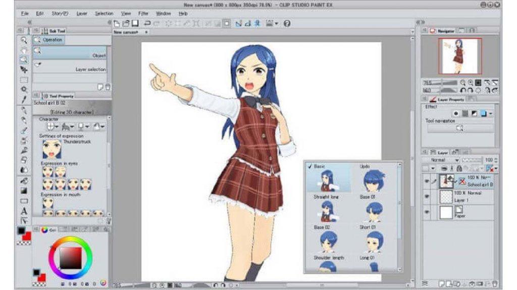 Gambar Clip Studio Paint EX