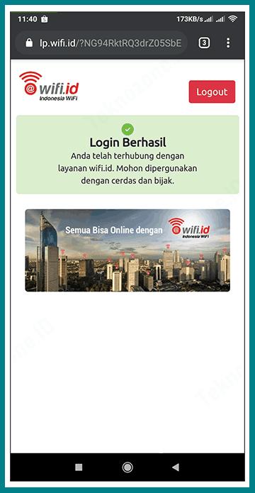 Login Logout Wifi Id : login, logout, Login, Landing, @wifi.id, Teknozone.ID