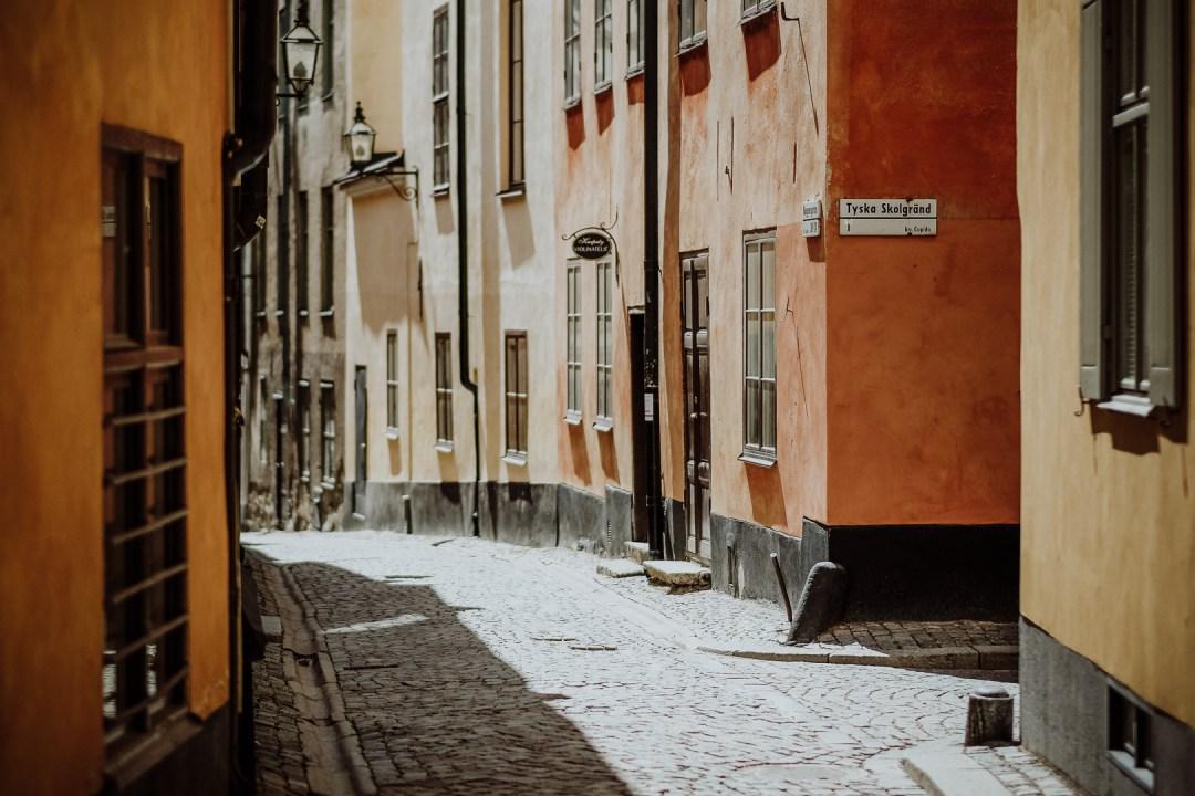 Fototur vid Under kastanjen med Tina Martell i gamla stan med Fujifilm X-t2