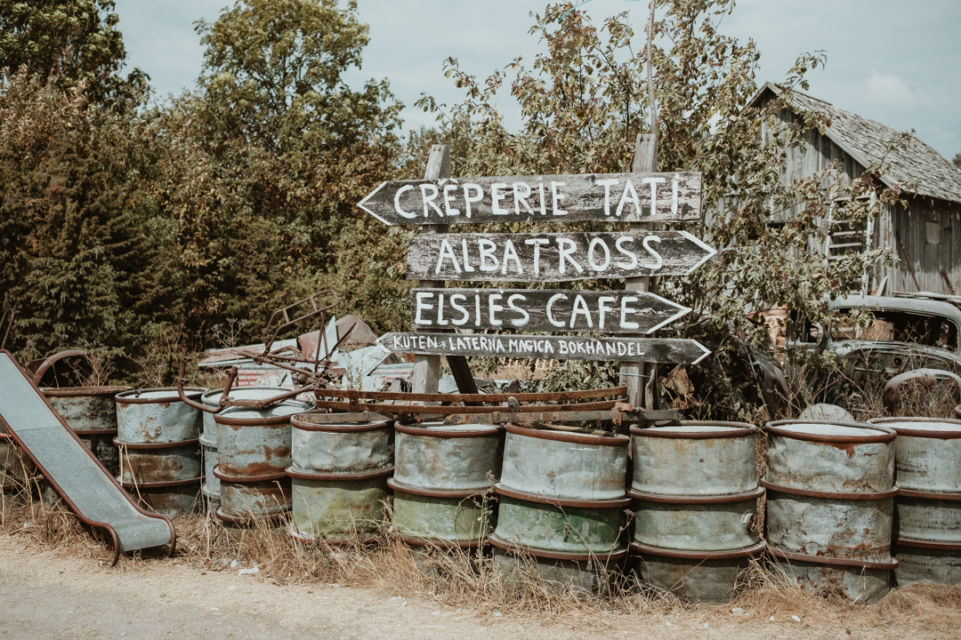 Creperie Tati hos Kutens bensin bjuder på lunch : Svenska resebloggar : Tekopp till bergstopp