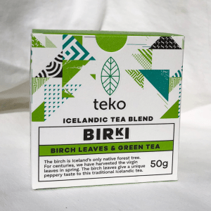 Traditional Icelandic Tea Blends, Teko Tea, BIRKI - Birch Leaves and Green Tea