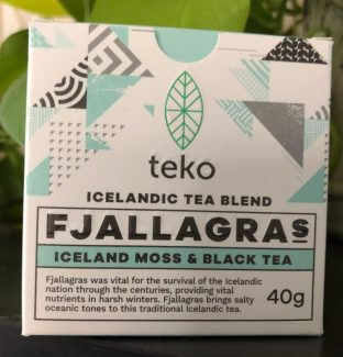 Icelandic Moss with Black Tea