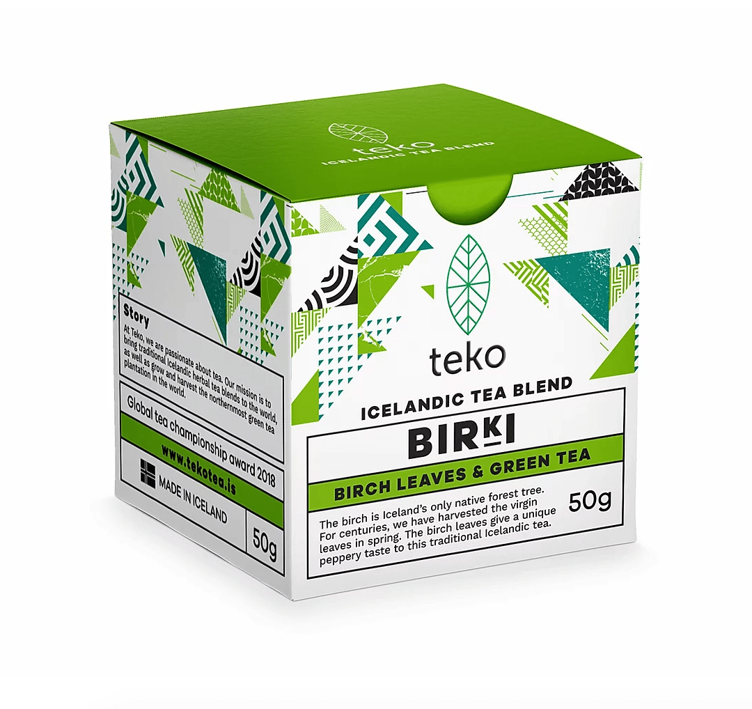 Traditional Icelandic Tea Blends, Teko Tea, BLODBERG - Wild Thyme and Black Tea