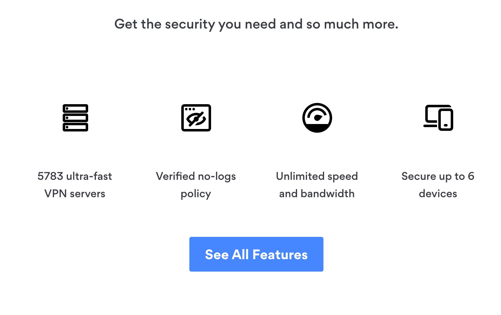 NordVPN features