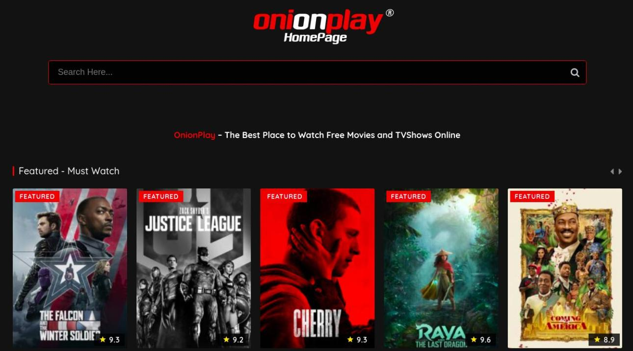 Onion Play Website to stream free movies and shows