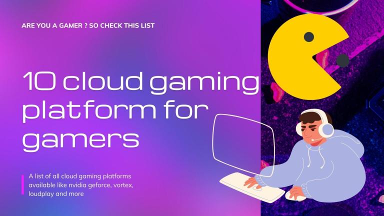 Cloud Gaming Services Banner
