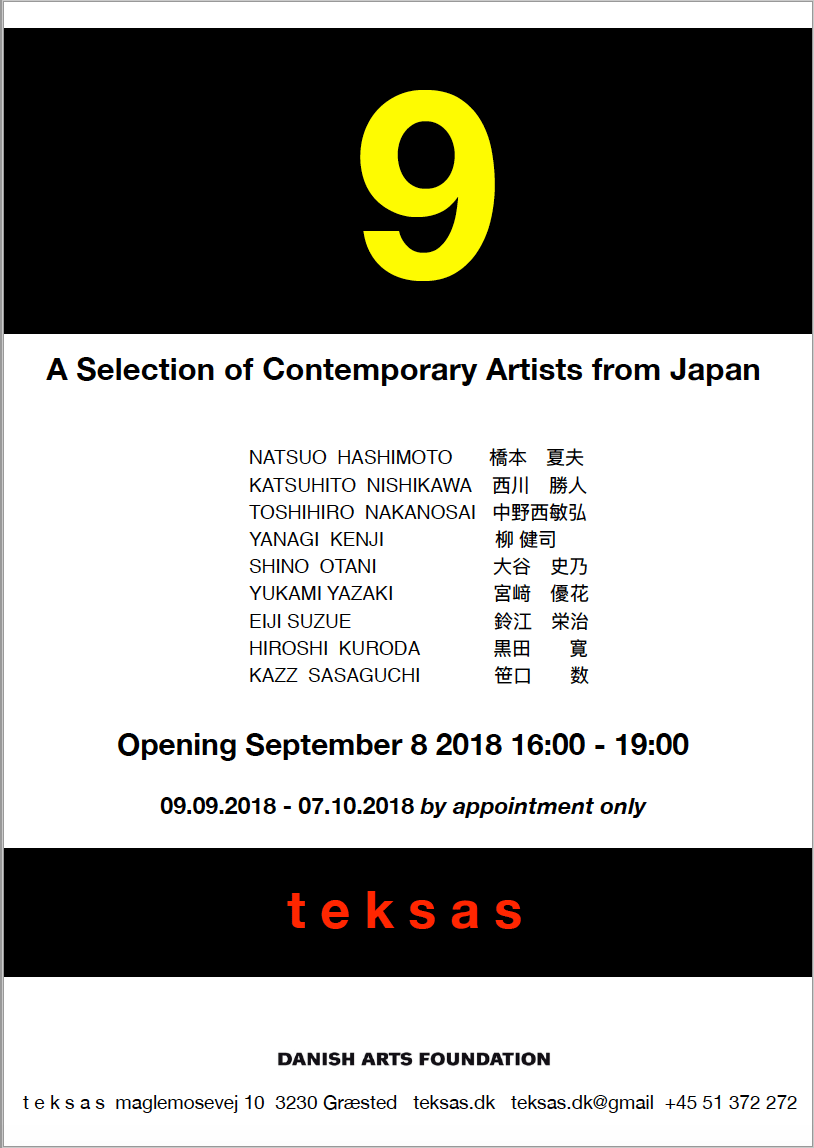 9 Contemporary Artists From Japan, 2018