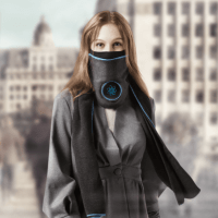 Livtech - Intelligent : Wearable : Mobile Air Purification Scarf for Winter_tekshanghai_2