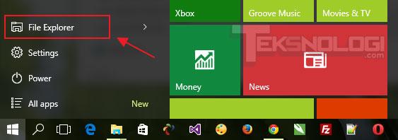 file-explorer-start-menu-windows10