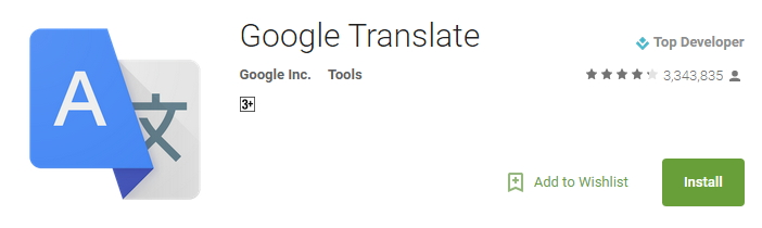 google-translate-playstore-android