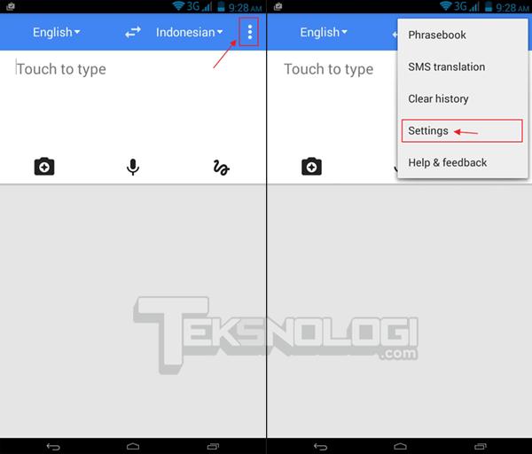 Cara Menggunakan Google Translate Secara Offline Tanpa Koneksi