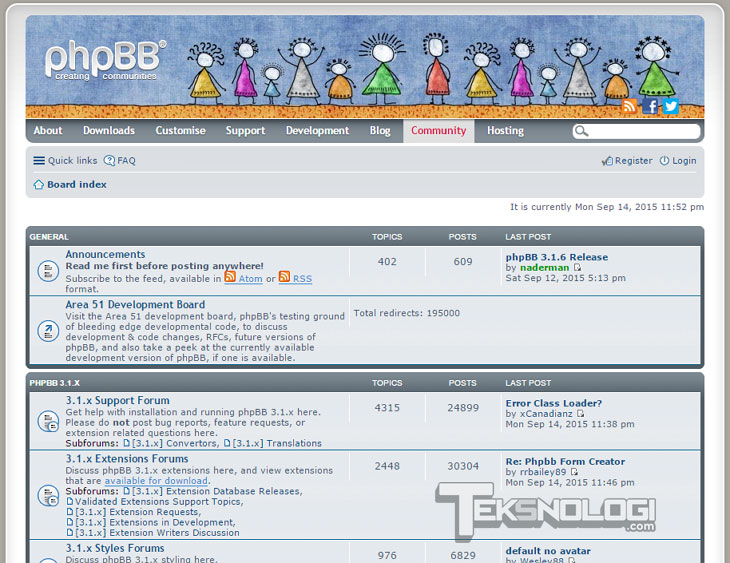 phpbb-forum-screenshot-demo