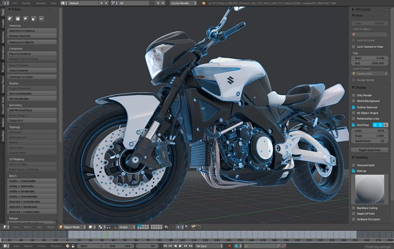 blender-object-3d-modeling
